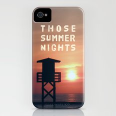 Those Summer Nights Slim Case iPhone (4, 4s)