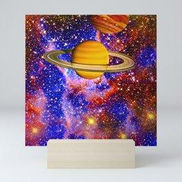 NEBULA DANCING WITH STARS Mini Art Print