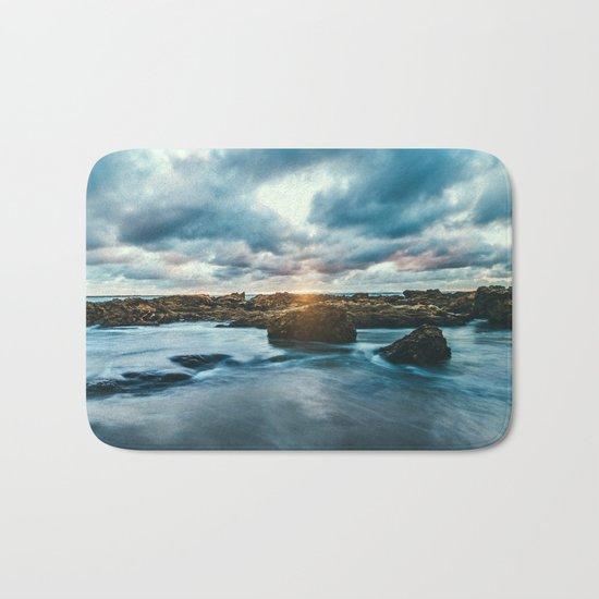 Ocean Rocks Bath Mat