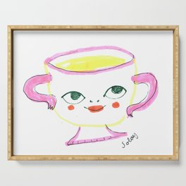 Teacup Cutie Serving Tray