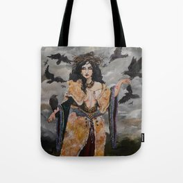 The Morrígan (The Great Queen) Tote Bag