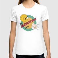 finn and jake T-shirts featuring The Jake & Finn Show. by Agu Luque