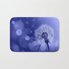 Pusteblume - blau Bath Mat