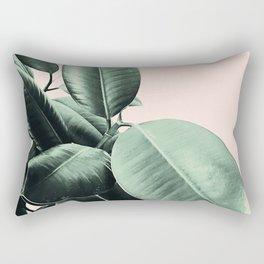 Ficus Elastica #24 #SummerVibes #foliage #decor #art #society6 Rectangular Pillow
