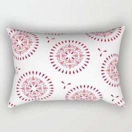 Uteri, Period. Rectangular Pillow