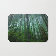 Misty Mountain Forest Bath Mat