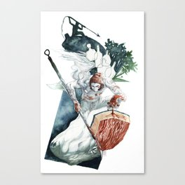 Whaling Canvas Print