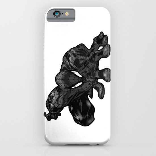 Spiderman B&W iPhone & iPod Case