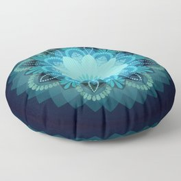 Beautiful Earth Mandala Floor Pillow