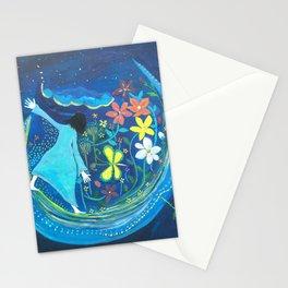 Inside of blue | Yuko Nagamori Stationery Cards