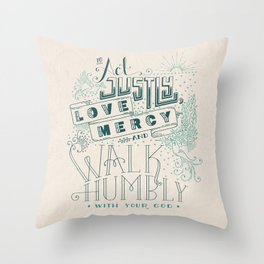 What is Good? Throw Pillow