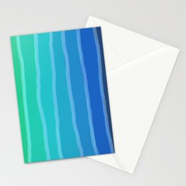 Vertical Color Tones #2 - Rainbow Collection Stationery Cards