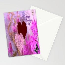 Happy Valentine`s Day Stationery Cards