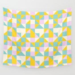 triangular geometric shape Wall Tapestry