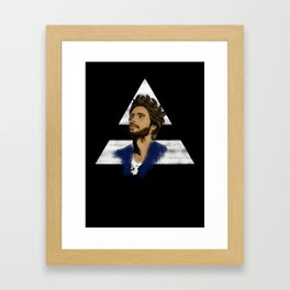 ECHELON (WHITE) Framed Art Print