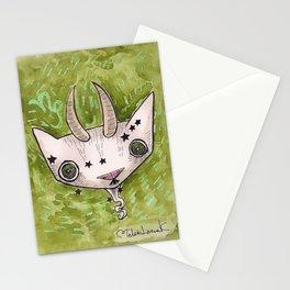 """Oro?"" Capricorn Stationery Cards"