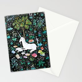 The Unicorn is Reading Stationery Cards