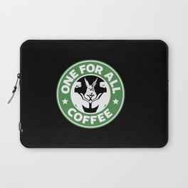 One For All Coffee Laptop Sleeve