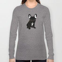 Brindle French Bulldog Long Sleeve T-shirt