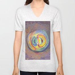 Abstract Mandala 7 Unisex V-Neck