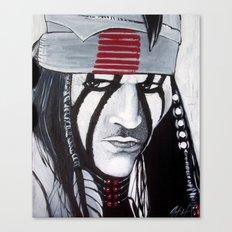 KE-MO SAH-BEE (FAITHFUL FRIEND) Canvas Print