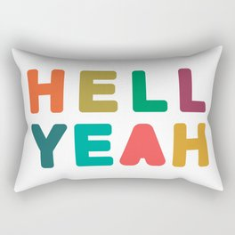 Hell Yeah Rectangular Pillow