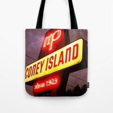 Small Town Coney Island Tote Bag