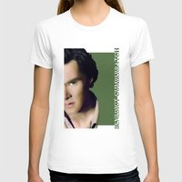 cumberbatch T-shirts featuring Benedict Cumberbatch by GinHans