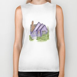 Purple House Biker Tank
