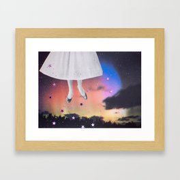 ABDUCTION Framed Art Print