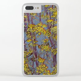 MAGIC DILL WEED Clear iPhone Case