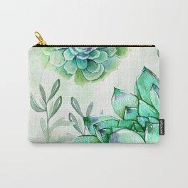 Irish Mint Garden Carry-All Pouch
