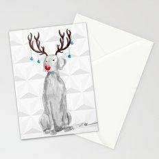 HOHOHOWOOOF WEIMARANER Stationery Cards