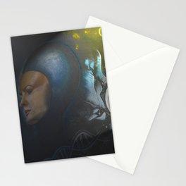 dea della scienza minerva Stationery Cards