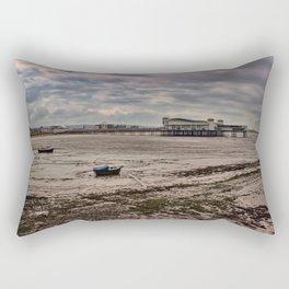 Grand Pier, Weston-super-Mare Rectangular Pillow