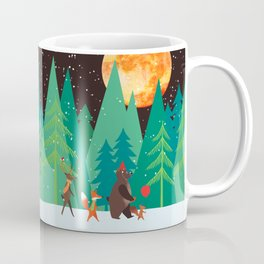 Take a walk under the moon Coffee Mug