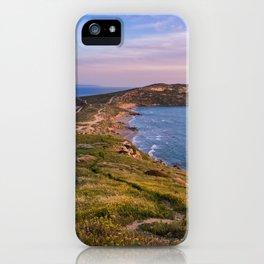 Landscape ocean 5 iPhone Case