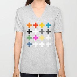 Crosses II Unisex V-Neck