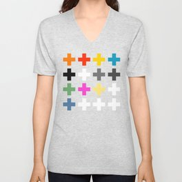 Crosses II Unisex V-Neck