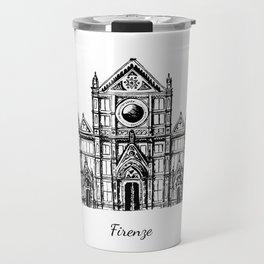 Florence cathedral of Santa Maria del Fiore Travel Mug