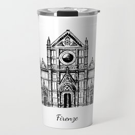 Florence cathedral of Santa Maria del Fiore Travel Mug