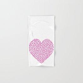 Hearts in hearts no.1 Hand & Bath Towel