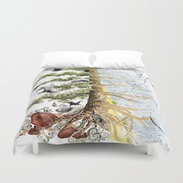 The Woods and The Water Duvet Cover