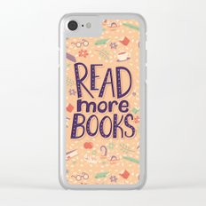 Read more books Clear iPhone Case