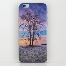 Aspen at Sundown iPhone Skin