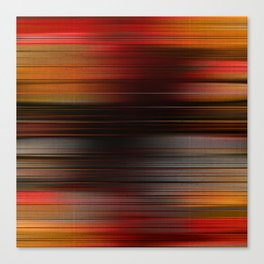 """Abstract Autumn Porstroke (Pattern)"" Canvas Print"
