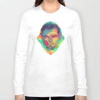 leonardo dicaprio Long Sleeve T-shirts featuring Leonardo Dicaprio by Rene Alberto