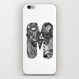 Letter M iPhone Skin