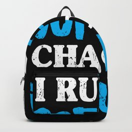 Funny Diabetes Coffee Chaos Insulin Diabetic Backpack