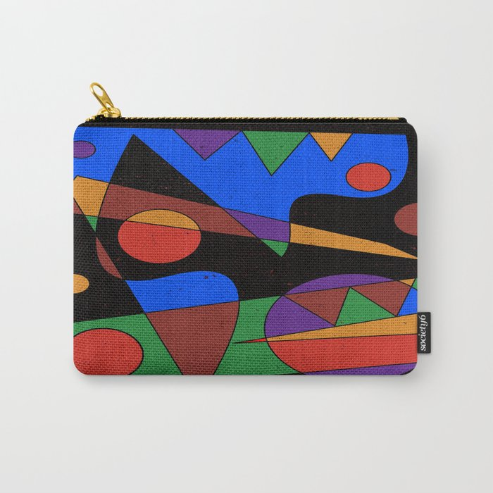 Abstract #105 Carry-All Pouch